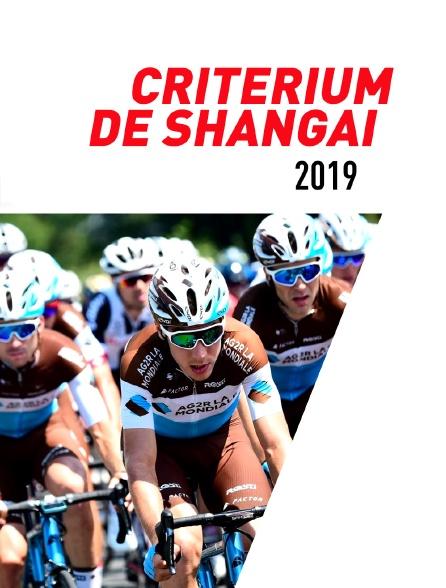 Critérium de Shanghai 2019