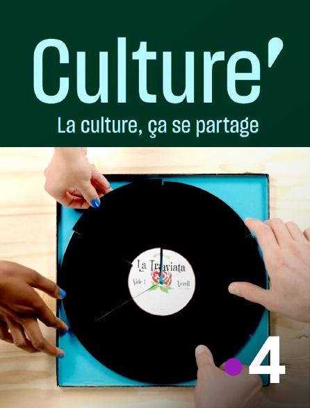France 4 - Culture prime