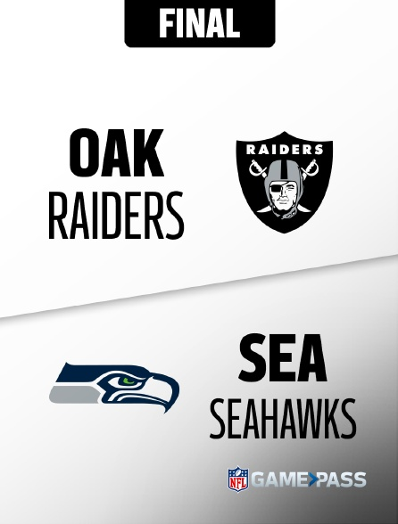 NFL 16 - Raiders - Seahawks en replay