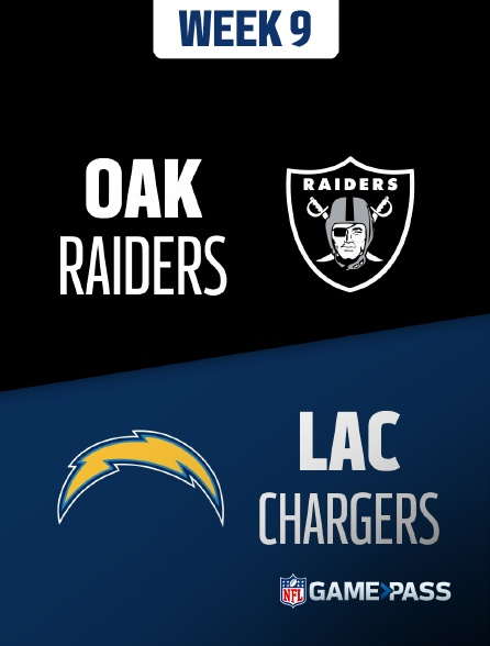 NFL 10 - Raiders - Chargers