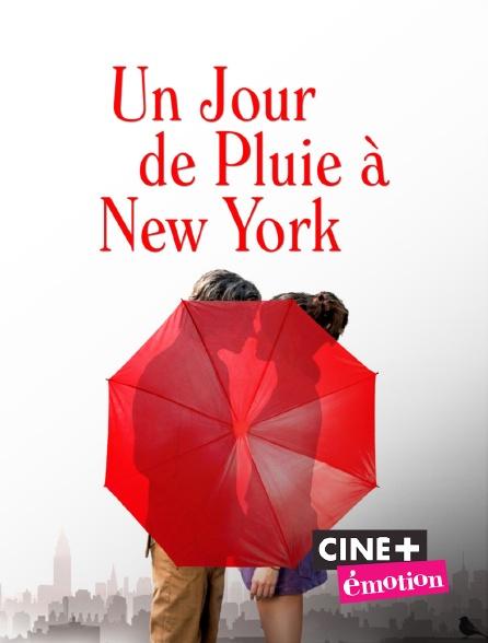 Ciné+ Emotion - Un jour de pluie à New York