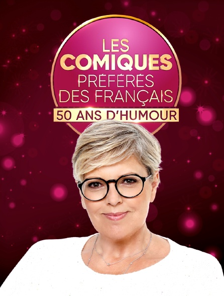 Les comiques préférés des Français : 50 ans d'humour