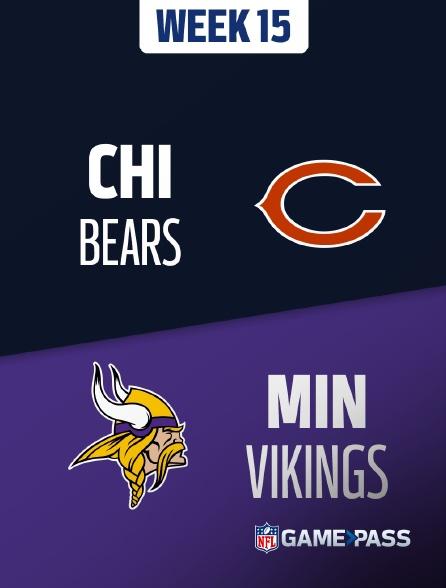 NFL 10 - Bears - Vikings