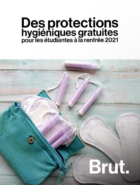 Brut - Des protections hygiéniques gratuites pour les étudiantes à la rentrée 2021