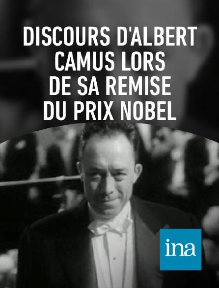 INA - Discours d'Albert Camus lors de sa remise du Prix Nobel