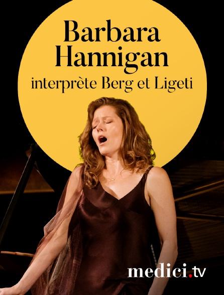 Medici - Barbara Hannigan interprète Berg et Ligeti - Sir Simon Rattle, London Symphony Orchestra - Barbican Centre, Londres