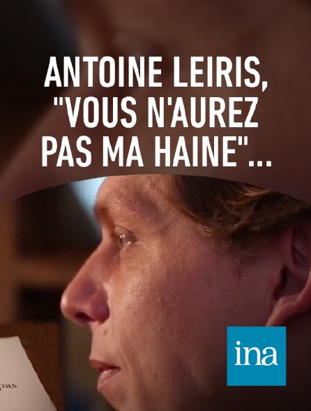 INA - Témoignage d'Antoine Leiris, mari d'une victime du Bataclan