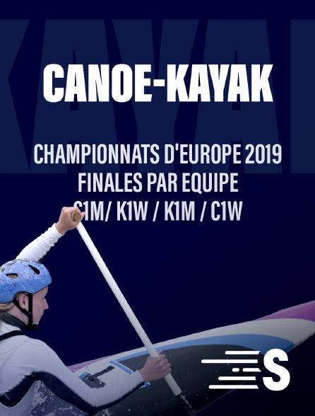 Sport en France - Championnats d'Europe 2019 Finales par équipes