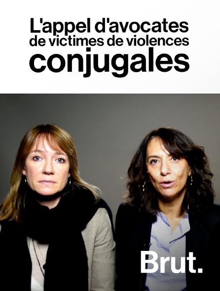 Brut - L'appel d'avocates de victimes de violences conjugales