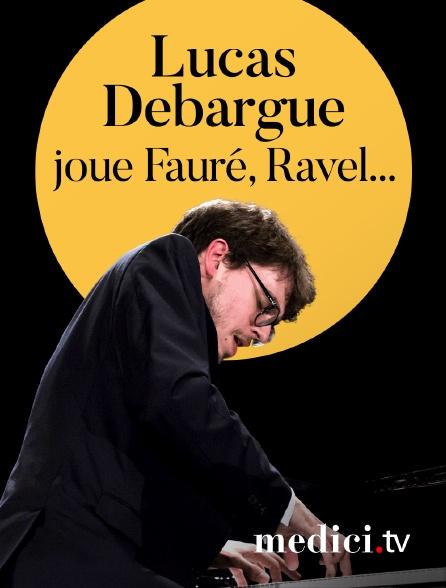 Medici - Lucas Debargue joue Fauré, Ravel... - Concert à huis-clos à la Fondation Singer-Polignac, Paris