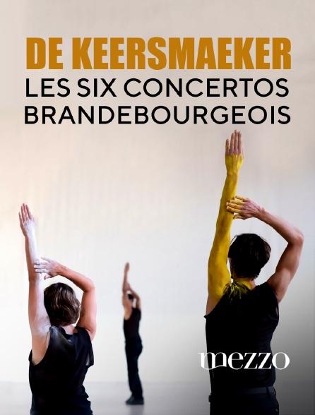 Mezzo - De Keersmaeker : Les six concertos brandebourgeois