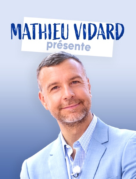 Mathieu Vidard présente