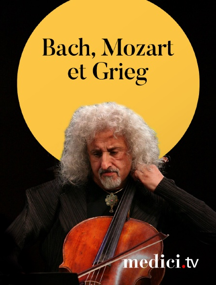 Medici - Martha Argerich, Stephen Kovacevich, Mischa Maisky : Bach, Mozart et Grieg - Verbier Festival 2008