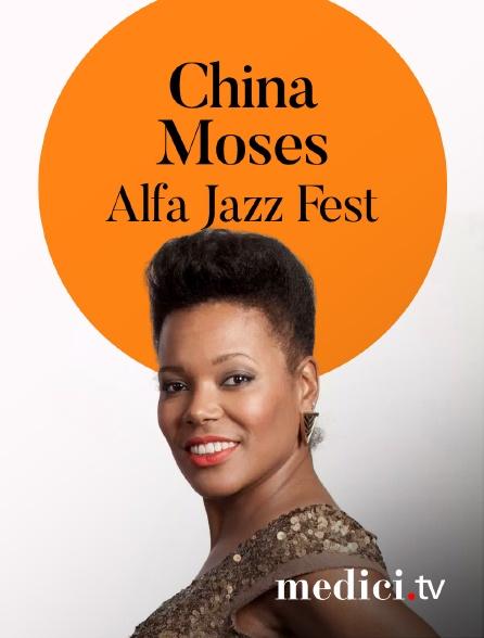 Medici - China Moses en concert àAlfa Jazz Fest