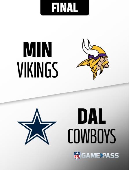 NFL 12 - Vikings - Cowboys