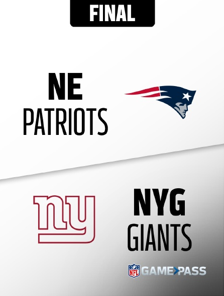 NFL 04 - Patriots - Giants