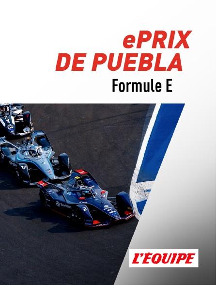 L'Equipe - ePrix de Puebla