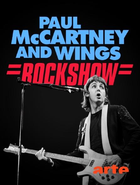 Arte - Paul McCartney & Wings : Rockshow
