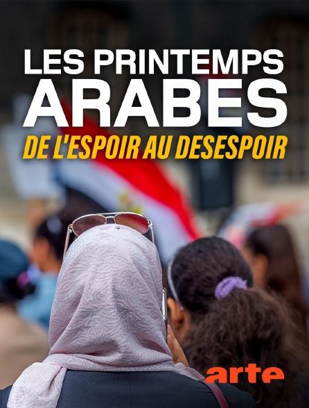 Arte - Les printemps arabes : de l'espoir au désespoir
