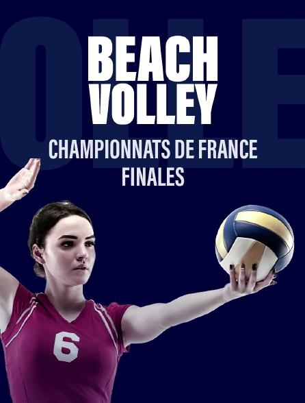 Championnats de France de beach volley - Finales 2019