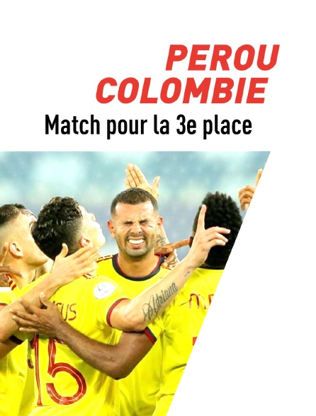 Football : Copa America - Pérou / Colombie