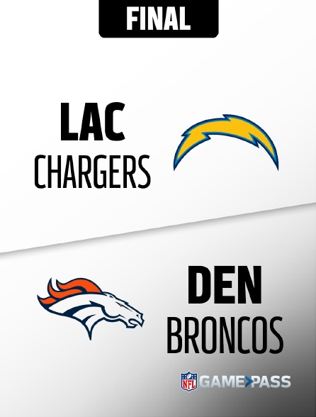 NFL 10 - Chargers - Broncos