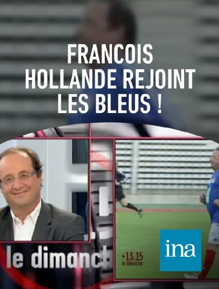 INA - François Hollande joueur de football