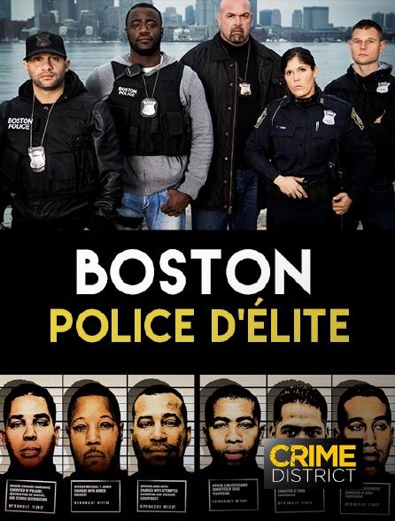 Crime District - Boston, police d'élite