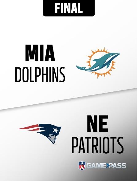 NFL 09 - Dolphins - Patriots en replay