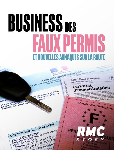 RMC Story - Business des faux permis et nouvelles arnaques sur la route