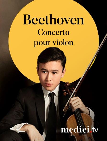 Medici - Beethoven, Concerto pour violon - Daniel Lozakovich, Valery Gergiev, Münchner Philharmoniker - Philharmonie im Gasteig, Munich