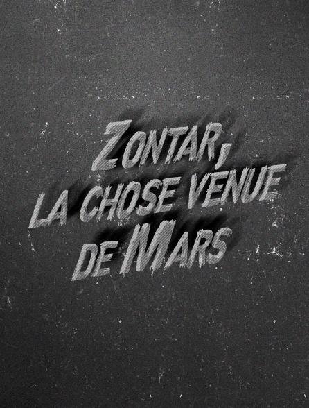 Zontar, la chose venue de Mars