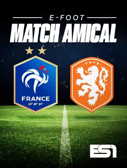 ES1 - E-Foot : Match amical international