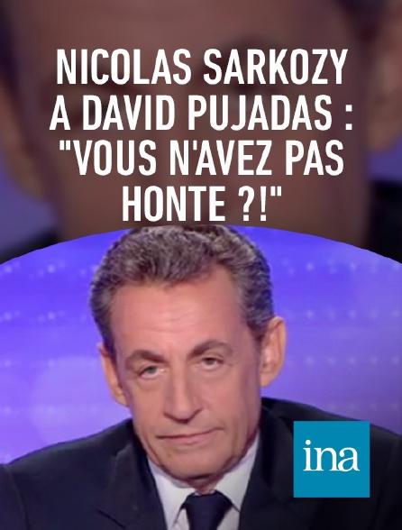 "INA - Nicolas Sarkozy à David Pujadas : ""Vous n'avez pas honte ?!"""