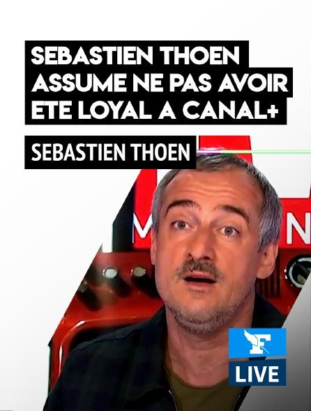 Figaro Live - «J'ai déconné»: Sébastien Thoen assume ne pas avoir été «loyal à Canal+»