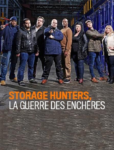 Storage Hunters, la guerre des enchères