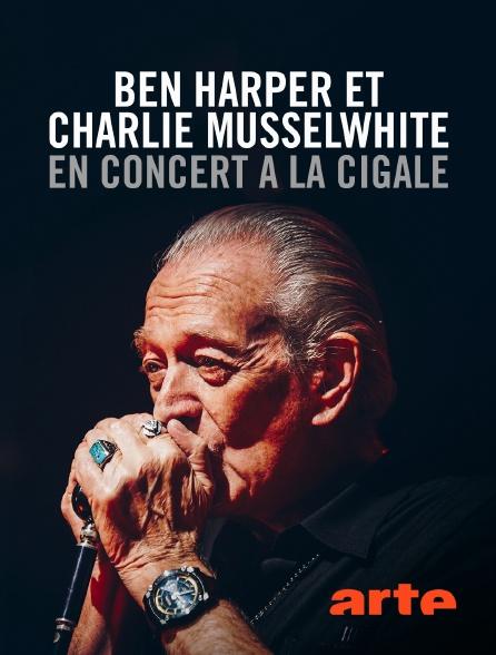 Arte - Ben Harper et Charlie Musselwhite en concert à La Cigale