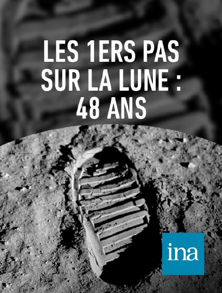 INA - La première marche d'Armstrong