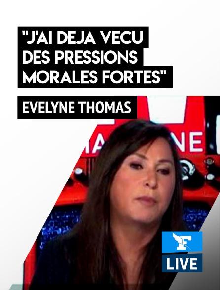 """Figaro Live - Evelyne Thomas : """"J'ai déjà vécu des pressions morales fortes"""""""