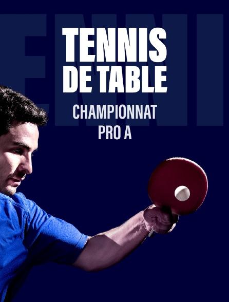 Tennis de Table championnat Pro A