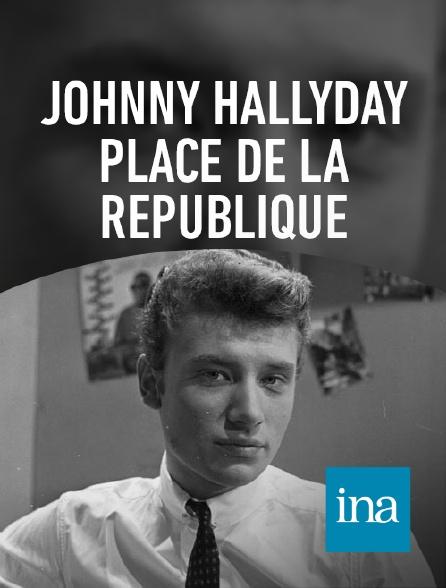 INA - Line Renaud et son filleul Johnny Hallyday
