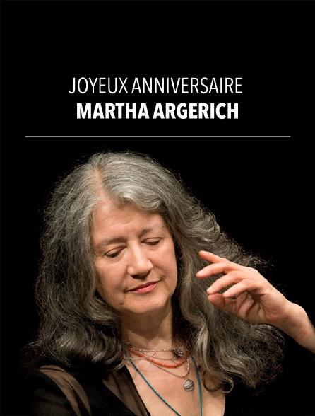 Joyeux anniversaire Martha Argerich