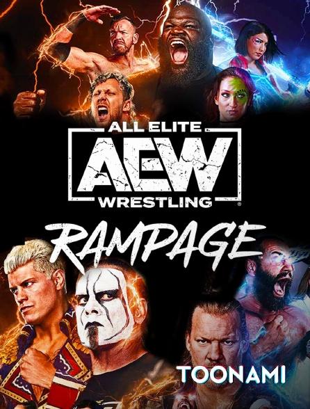 Toonami - All Elite Wrestling : Rampage