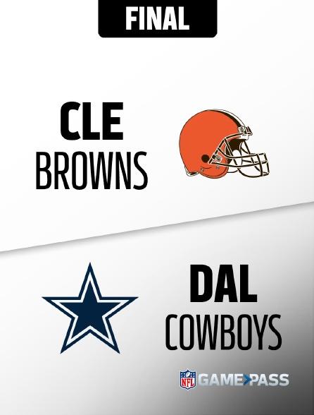 NFL 05 - Browns - Cowboys en replay