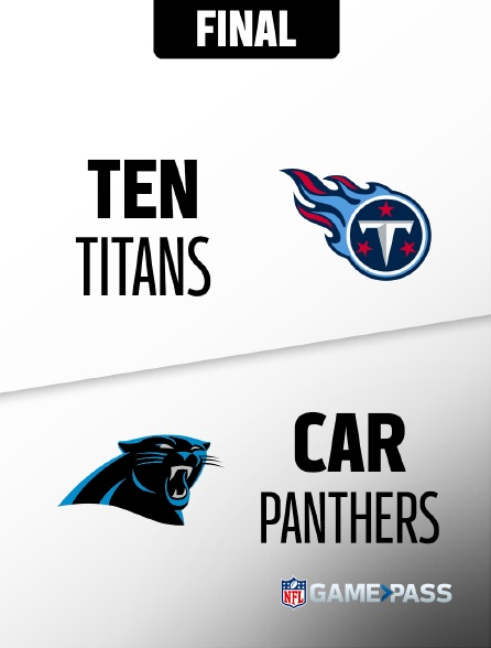 NFL 04 - Titans - Panthers