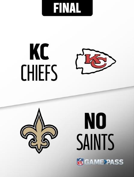 NFL 14 - Chiefs - Saints en replay