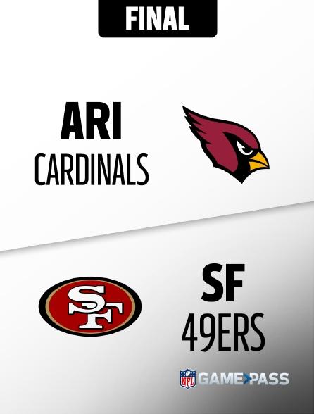 NFL 10 - Cardinals - 49ers