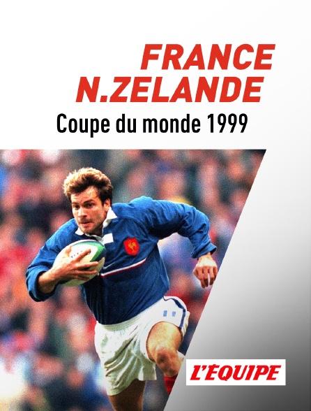 L'Equipe - Rugby : Coupe du monde 1999 : 1/2 finale - France / Nouvelle-Zélande
