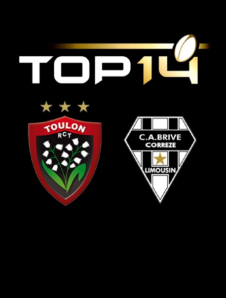 Rugby - Top 14 : Toulon / Brive