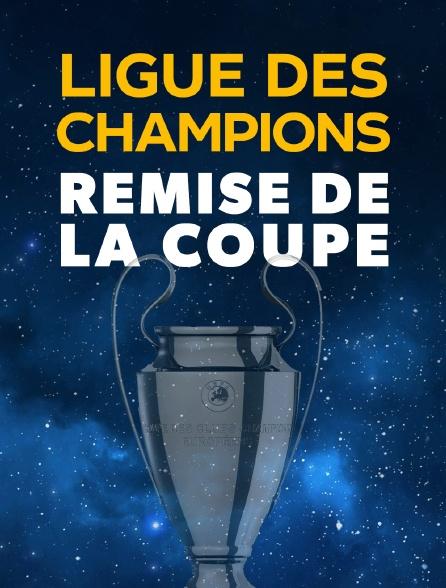 Football - Ligue des champions :  Remise de la coupe